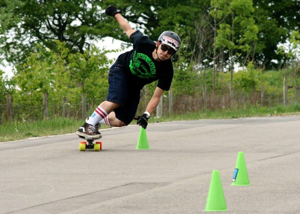 Slalom Skateboard Conos