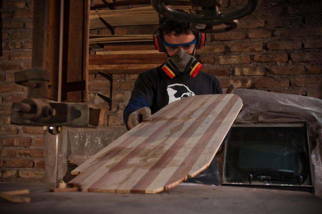 construccion tabla skate