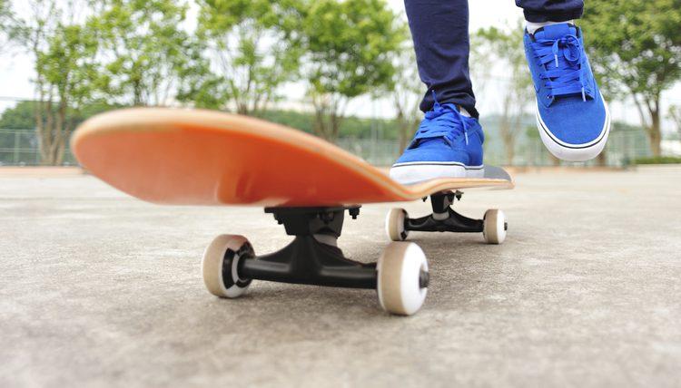 Skate con elevadores