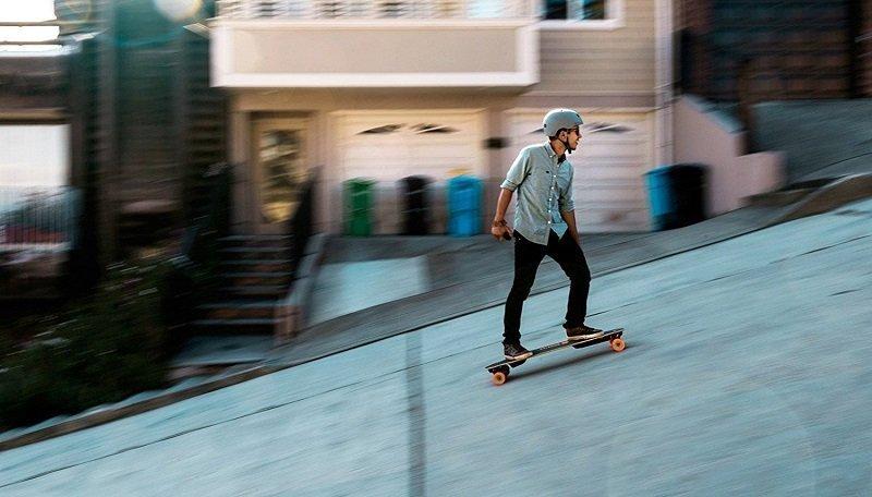 inclinacion skate electrico