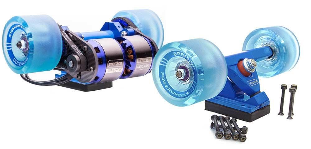 motor skate electrico y ruedas