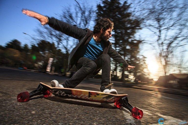 skater longboard