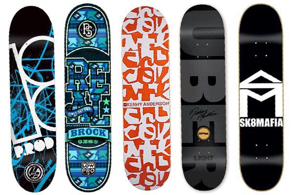 tablas de skates