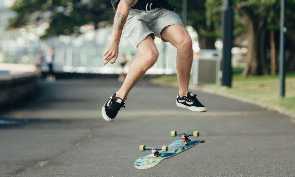 zapatillas skate negras