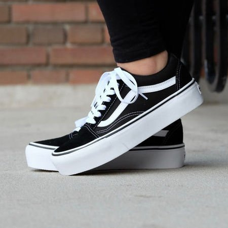 vans niño negras authentic