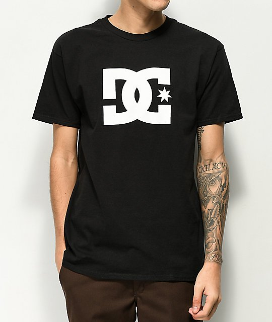 camiseta dc shoes barata negra