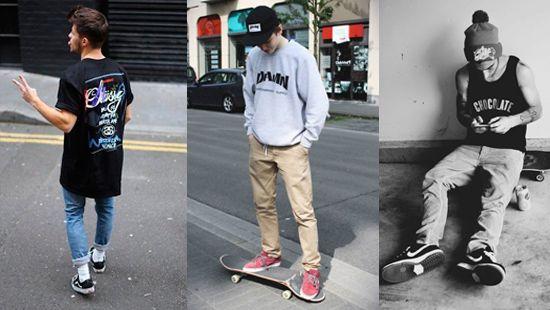 skate urbano ropa