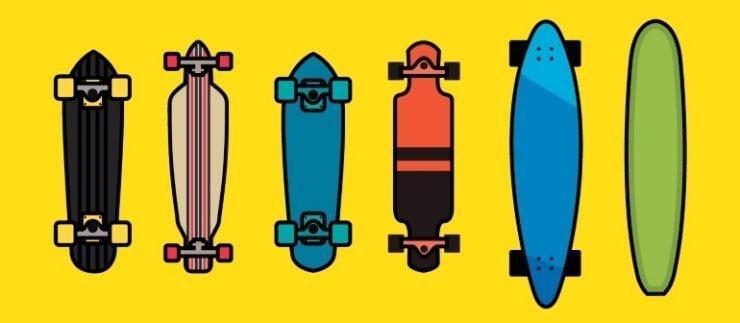 tipos de longboard