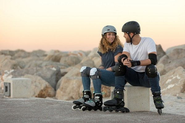 patines en línea personas