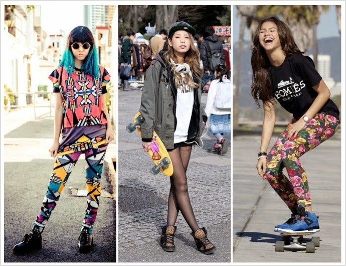 ropa skate chicas