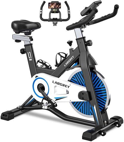 LABGREY Bicicleta Estatica de Spinning Bici Ejercicio Gym