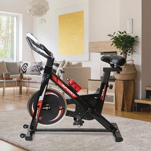 TLV BS2 Bicicleta Estatica de Spinning Bici Ejercicio comedor