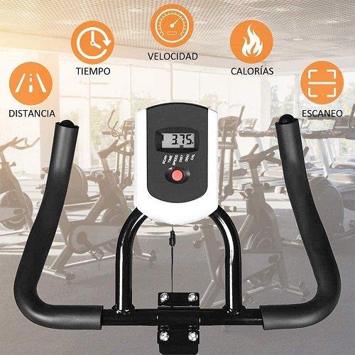 TLV BS2 Bicicleta Estatica de Spinning Bici Ejercicio pantalla