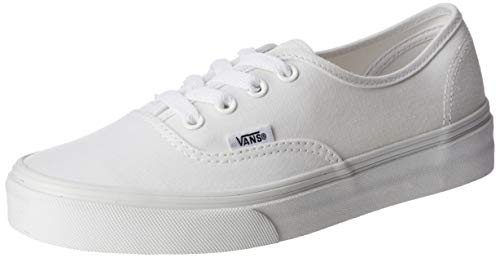 Vans Authentic, Zapatillas de Tela Unisex, Blanco (True White), 45 EU