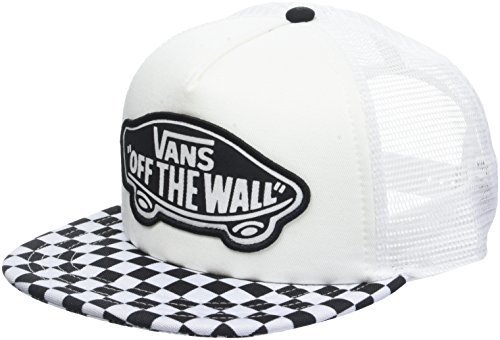 Vans_Apparel Beach Trucker Hat Gorra de béisbol, Negro (Black-White Checkerboard 56M), Talla única para Mujer
