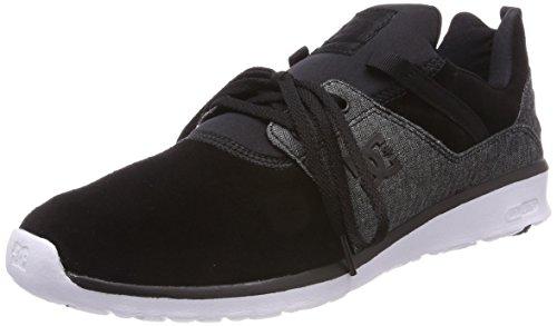 DC Shoes Heathrow SE, Zapatillas para Hombre, Negro (Schwarz Wash Bw8), 45 EU