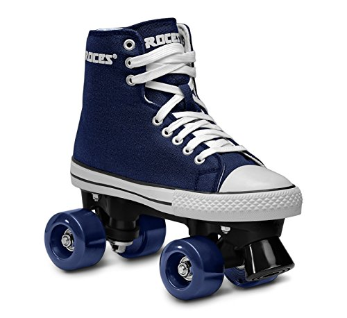 Roces Chuck Classic Roller - Patines de ruedas unisex, color azul, talla 41