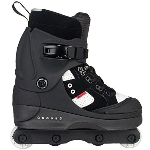 Anarchy Chaos Patines, Unisex Adulto, Negro (Black), 40.5