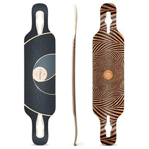 Loaded Boards Tan Tien Bamboo Longboard Skateboard Deck (Flex 1)